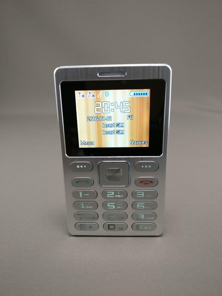 SATREND A10 GSM ミニカードフォン 表6