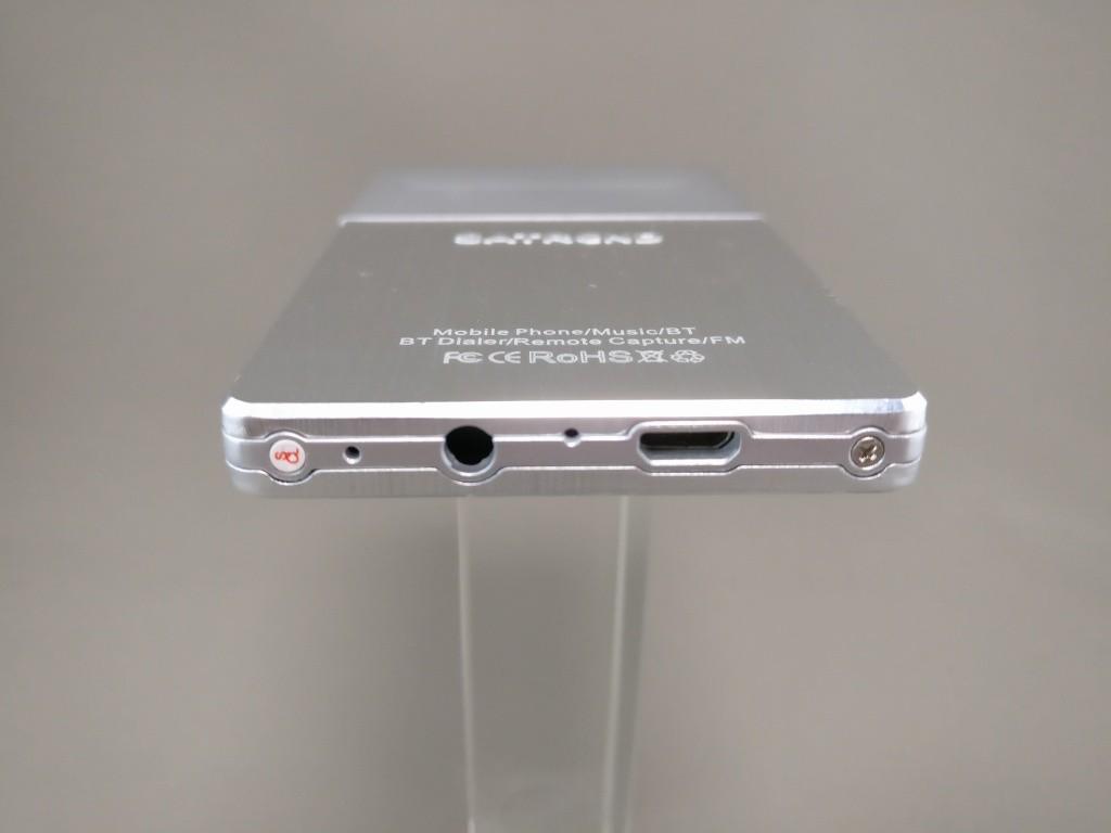 SATREND A10 GSM ミニカードフォン 側面 上