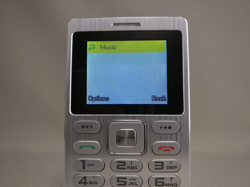SATREND A10 GSM ミニカードフォン Music2