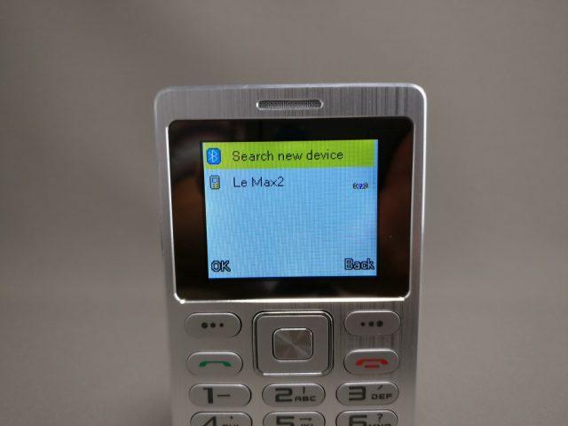 SATREND A10 GSM ミニカードフォン Bluetooth接続 Search