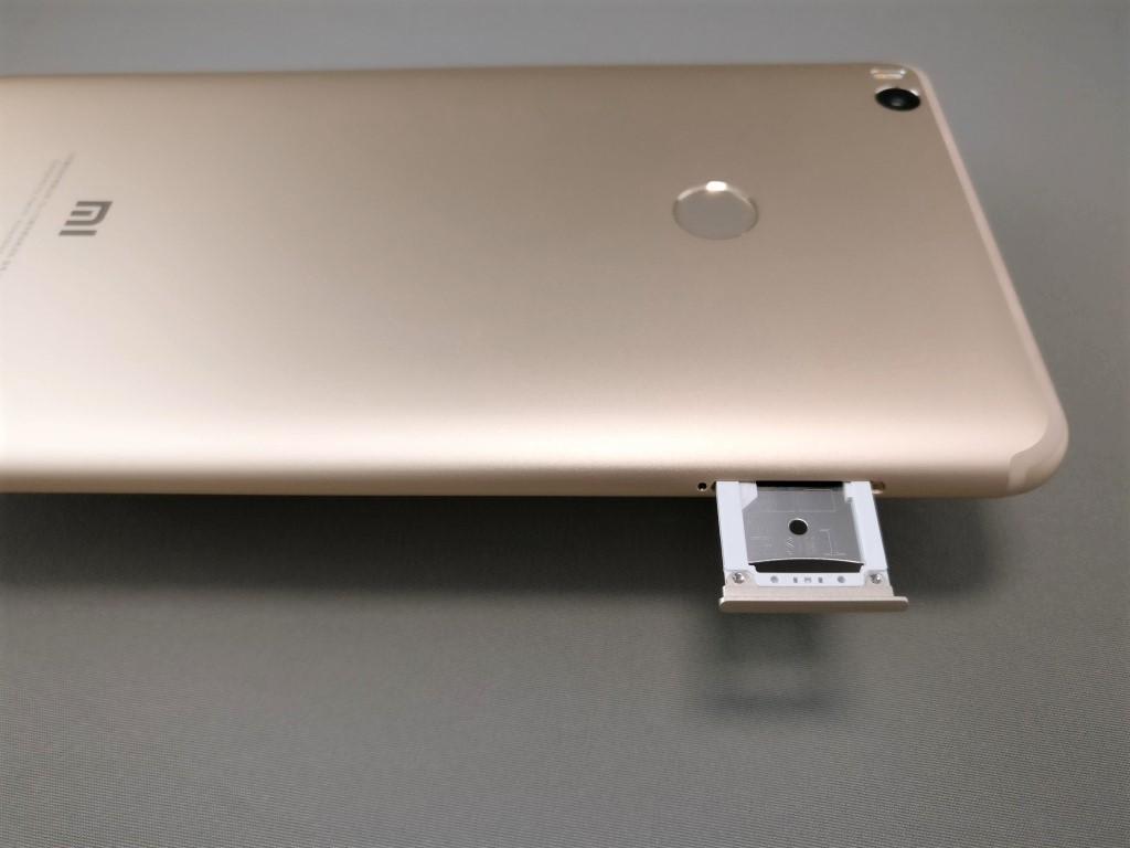Xiaomi Mi Max 2 SIMスロット