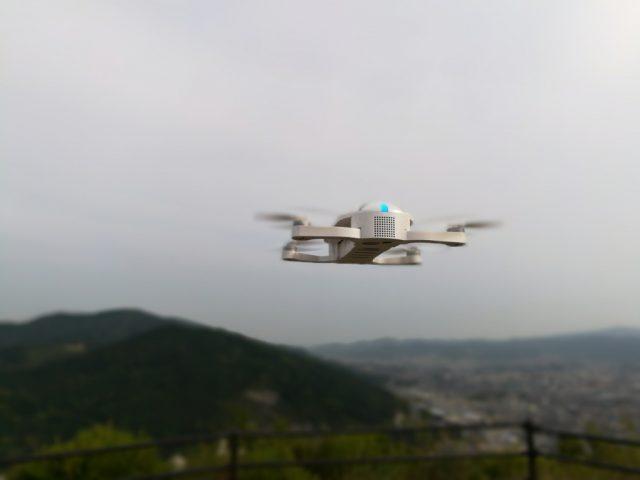 Huawei honor 6X  ワイドアパーチャ時 クアッドコプター 飛ばす