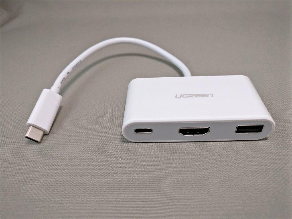 UGREEN USB-C ハブ 本体