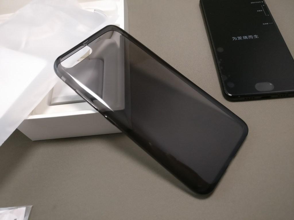 Xiaomi Mi6 開封 付属品 ソフトケース
