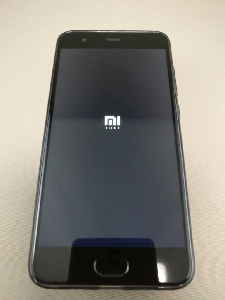 Xiaomi Mi6 起動1