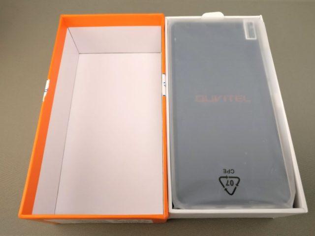 OUKITEL K6000 Plus 化粧箱 開封