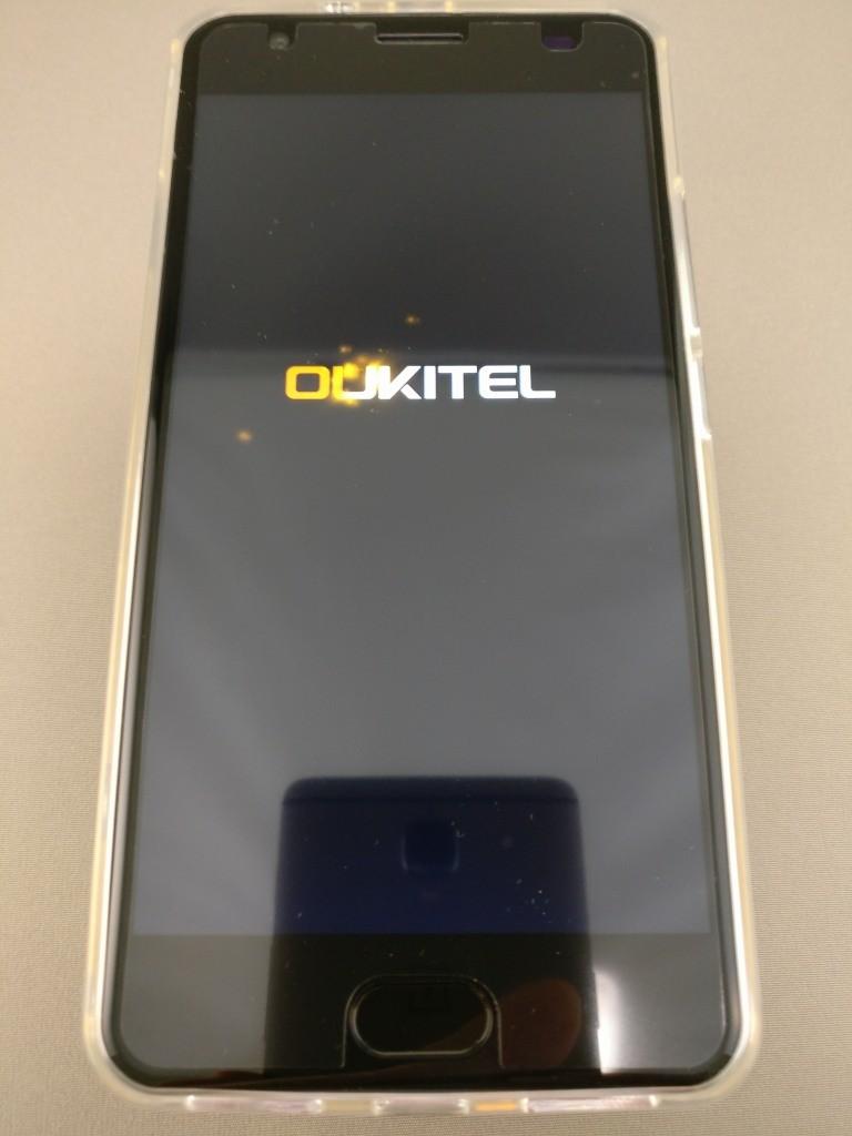 OUKITEL K6000 Plus 起動 6