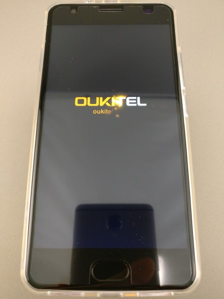 OUKITEL K6000 Plus 起動 1