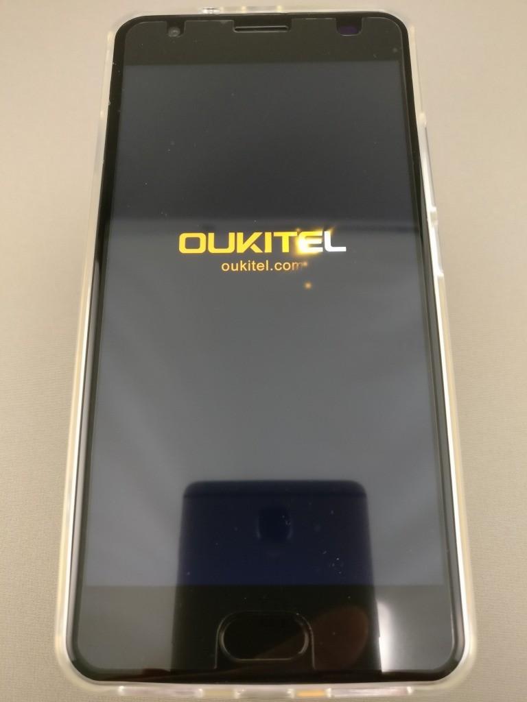 OUKITEL K6000 Plus 起動 2