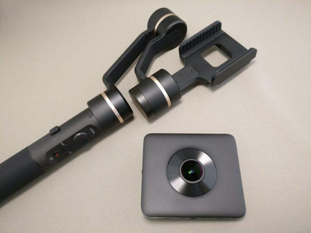 FeiyuTech SPG c 3軸ジンバル 360度アクションカメラ