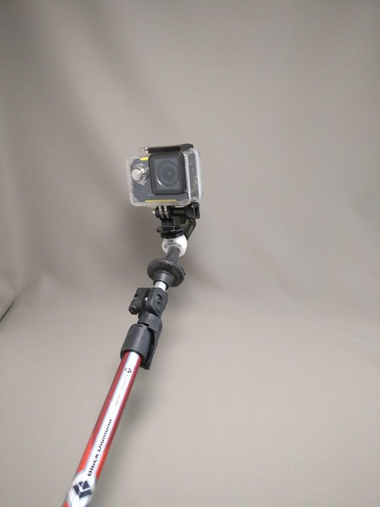BlackDiamondステッキ アクションカメラ
