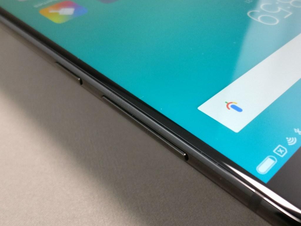 Xiaomi Mi6 ベゼル 横