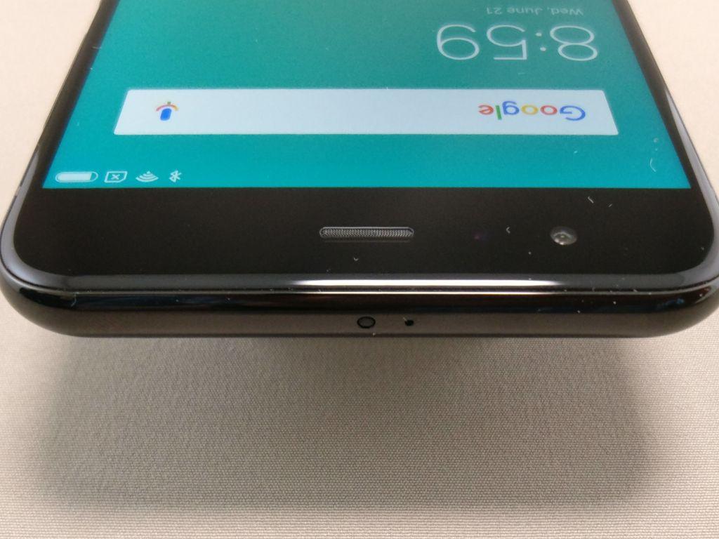 Xiaomi Mi6 ベゼル 上