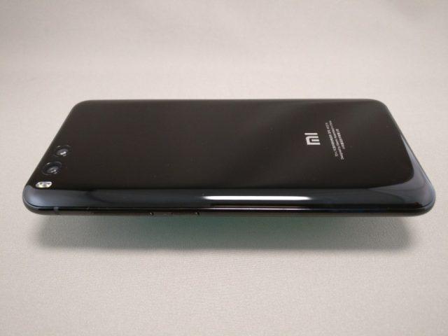Xiaomi Mi6 裏面 横