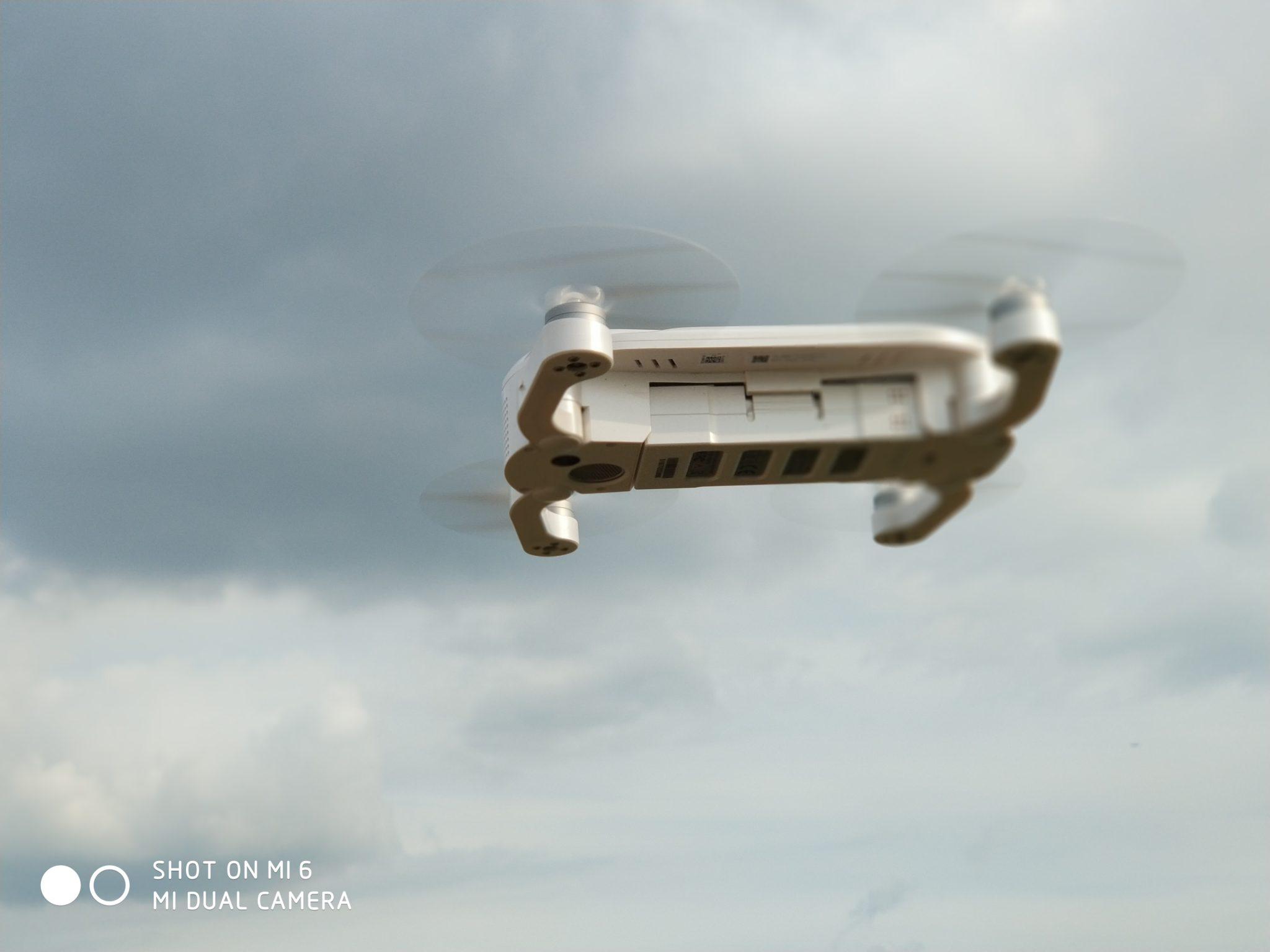 Xiaomi Mi6 デュアルカメラ撮影 裏山頂上 半分背景ボケ