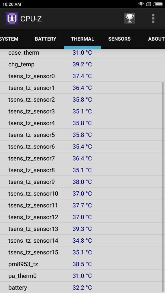 Xiaomi Mi Max 2 Thermal2