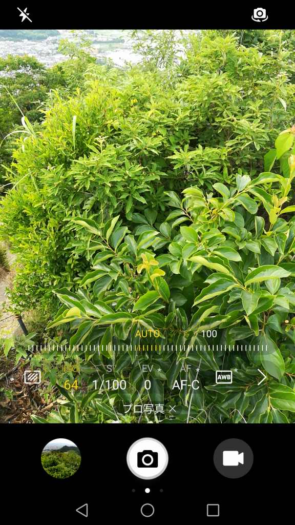 Huawei honor 6X カメラ機能 プロ写真 ISO