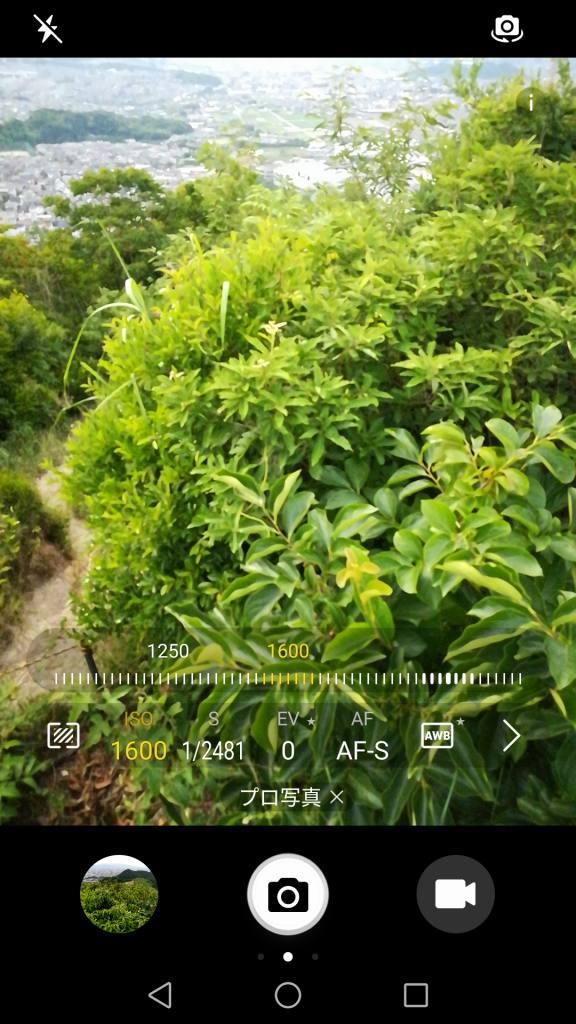 Huawei honor 6X カメラ機能 プロ写真 ISO 1600
