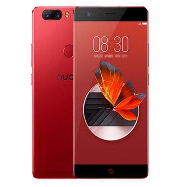 banggood ZTE Nubia Z17 Snapdragon 835 MSM8998 2.35GHz 8コア RED(レッド)