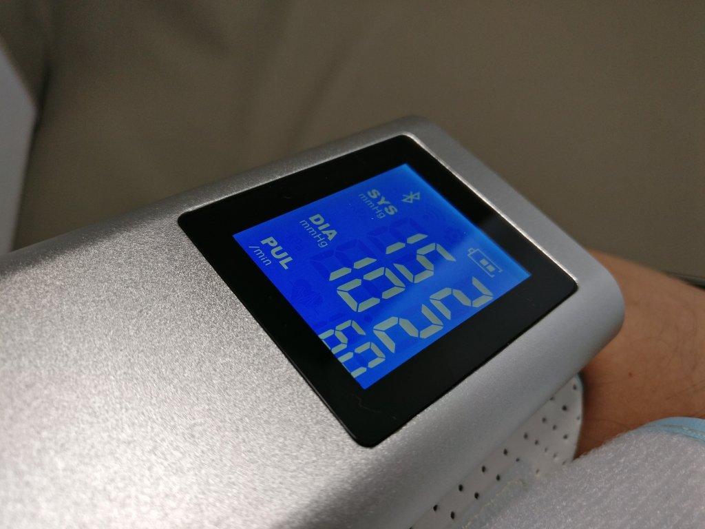 Koogeek スマート血圧計 計測結果