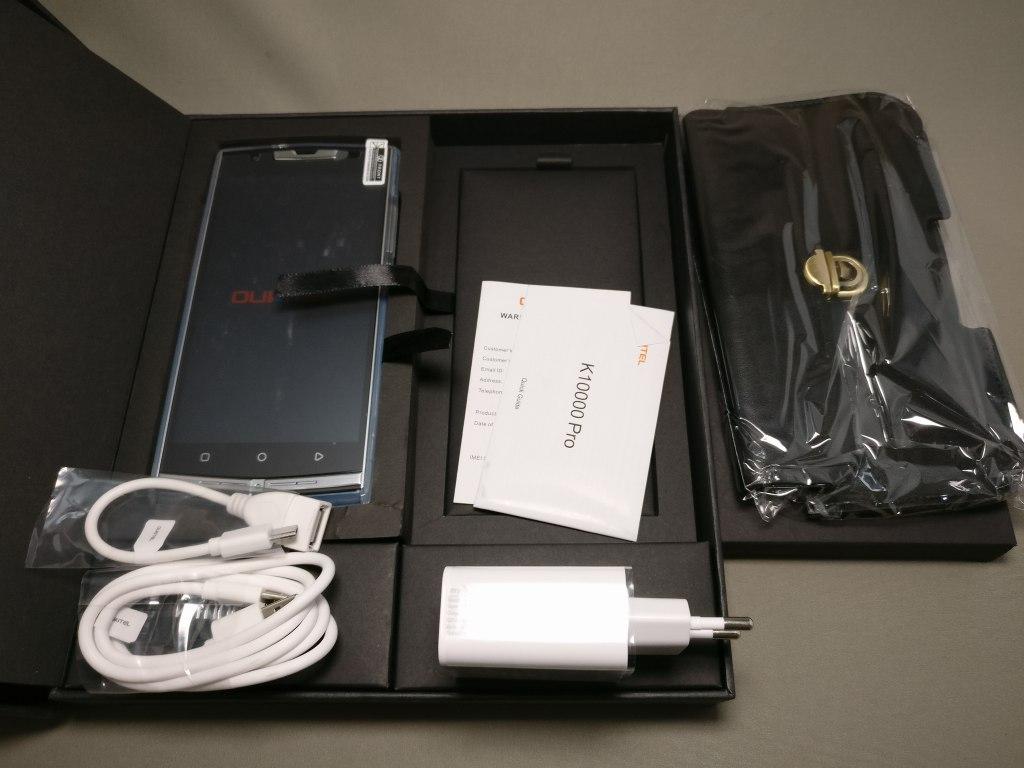 OUKITEL K10000 Pro 付属品 一覧 開ける