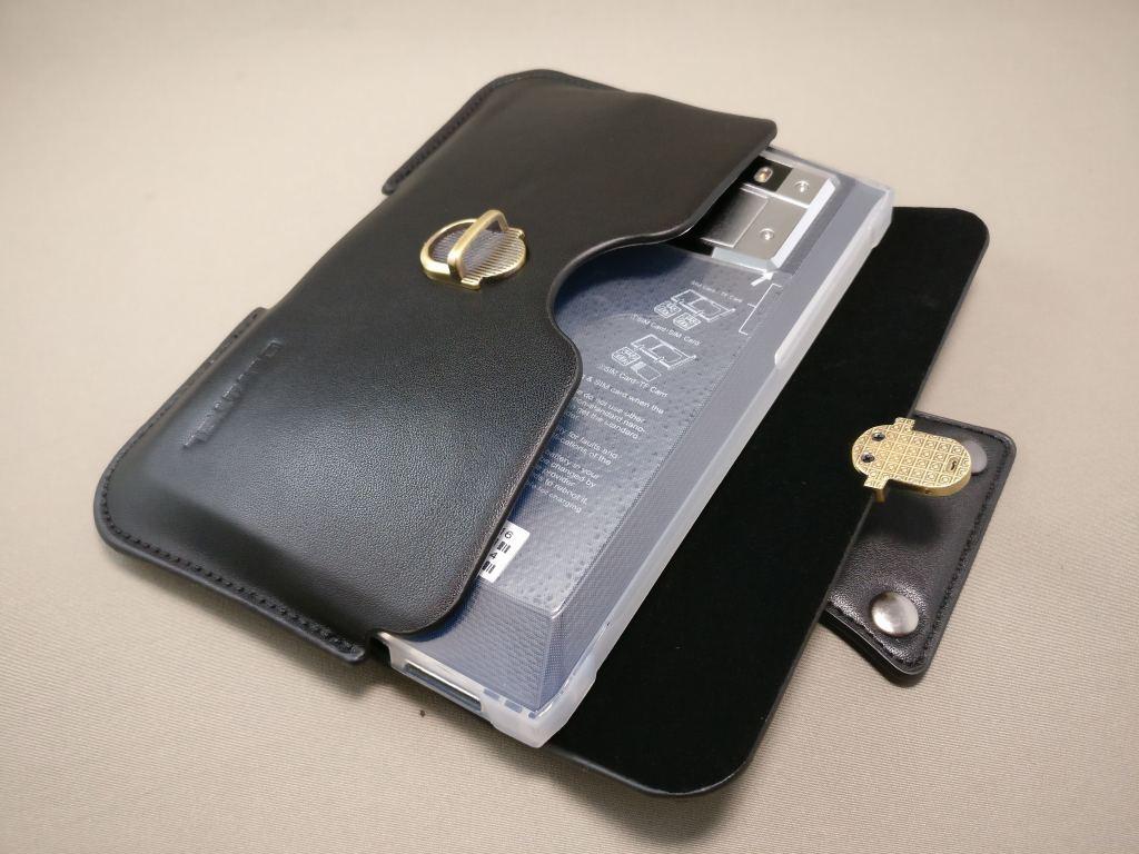OUKITEL K10000 Pro 革ケース 保護ケース装着時