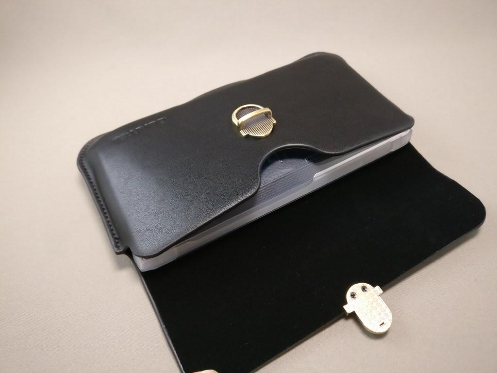 OUKITEL K10000 Pro 革ケース 保護ケース装着時 収納可能