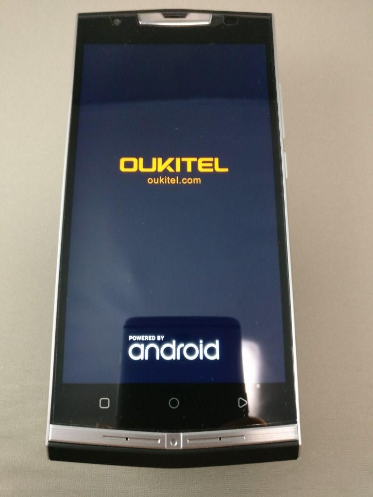 OUKITEL K10000 Pro 起動1