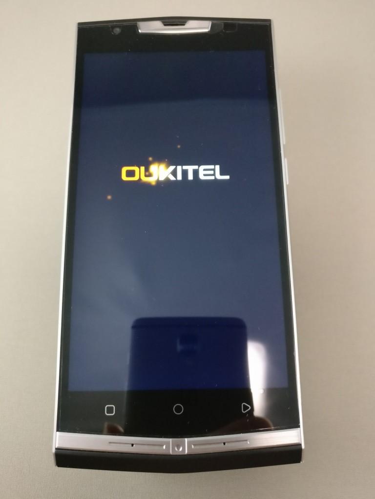 OUKITEL K10000 Pro 起動3