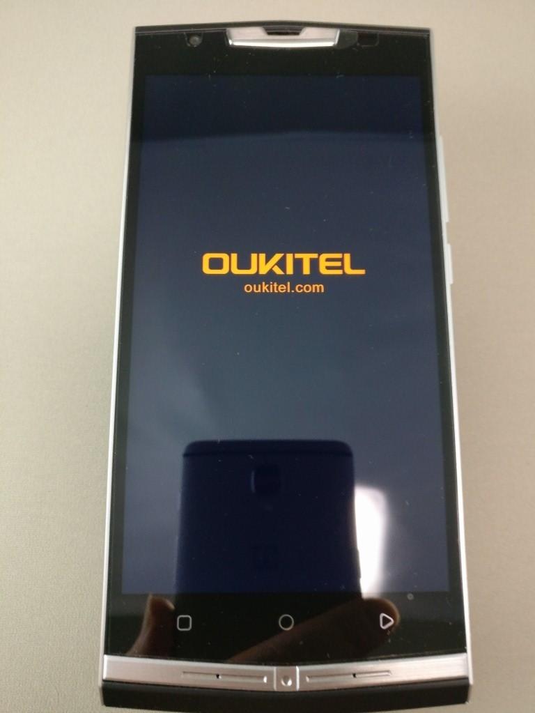 OUKITEL K10000 Pro 起動10