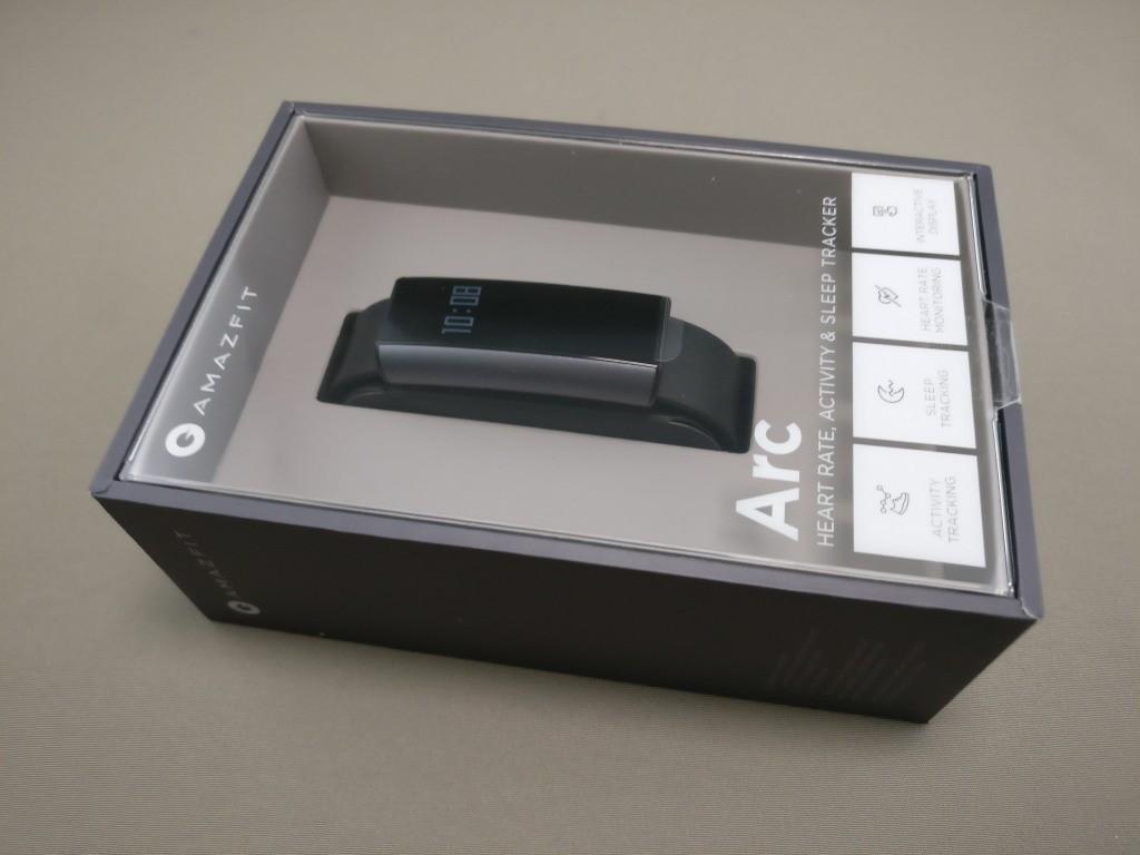 Xiaomi Amazfit A1603 スマートバンド 化粧箱 横