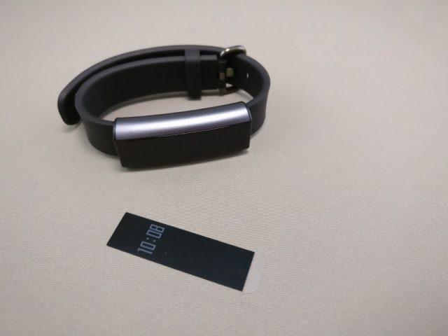 Xiaomi Amazfit A1603 スマートバンド シール取る
