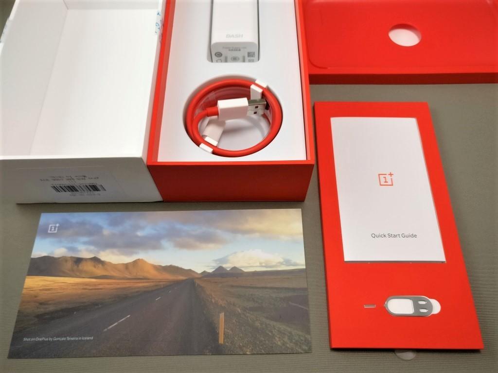 OnePlus5 付属品