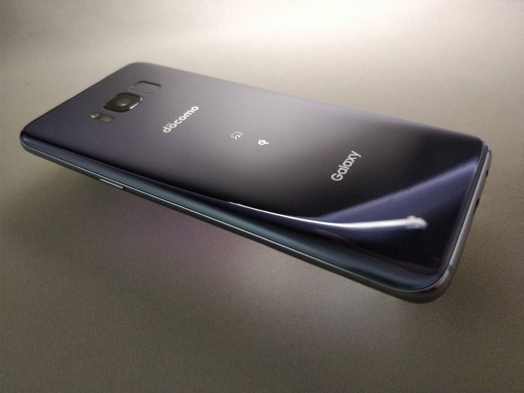 Galaxy S8 裏斜め3