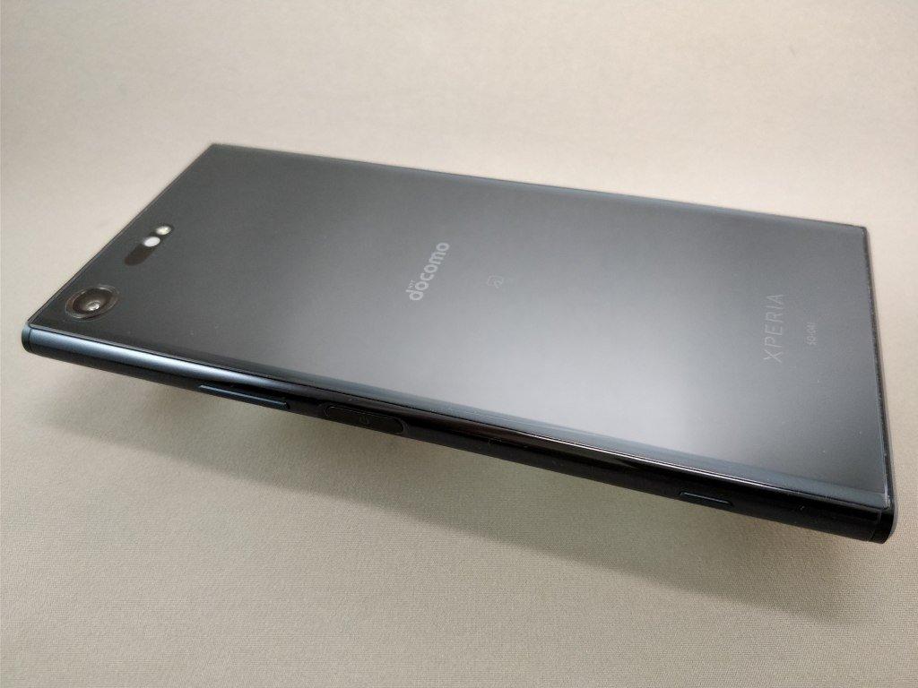 Xperia XZ Premium 裏 ななめ4