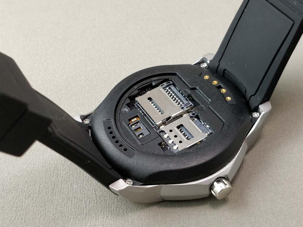 LEMFO LF17 SIMスロット・MicroSD