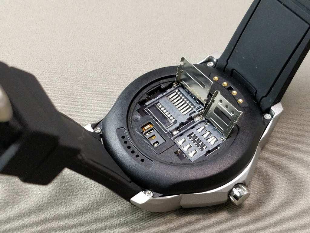 LEMFO LF17 SIMスロット・MicroSD開ける
