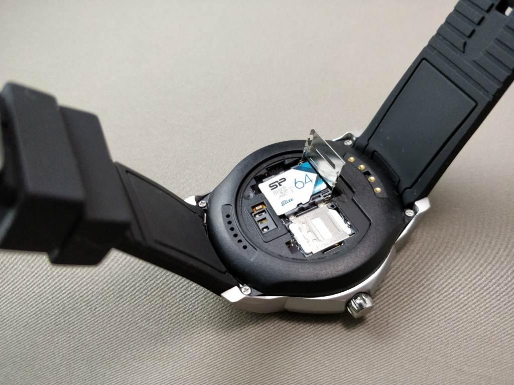 LEMFO LF17 SIMスロット・MicroSD装着