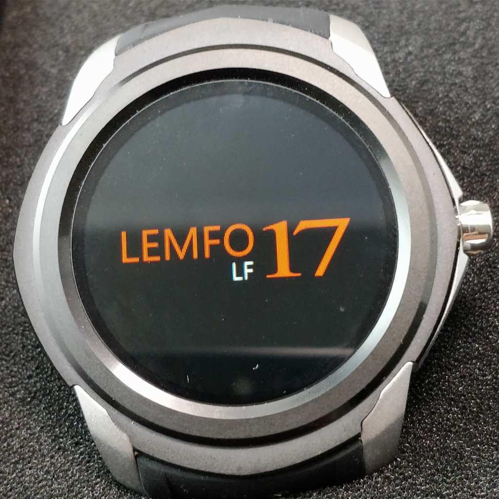 LEMFO LF17 起動 1