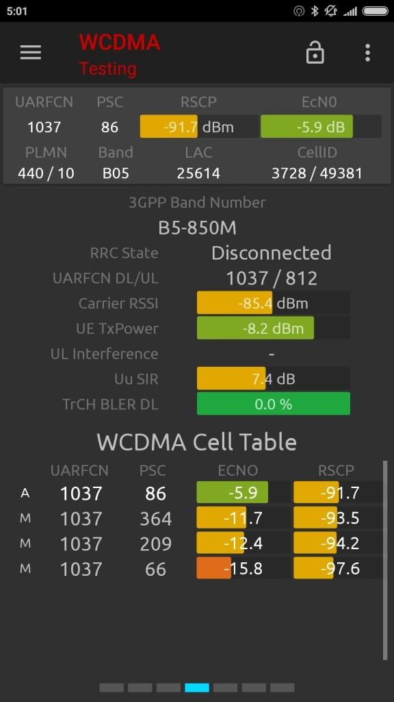 Mi6 WCDMA 1
