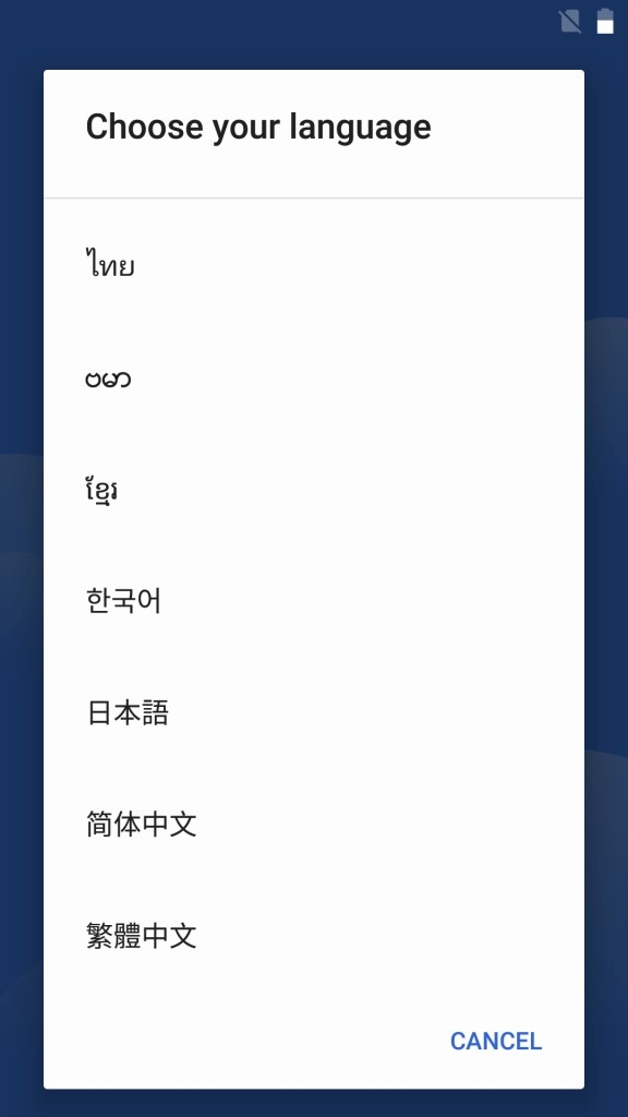 OUKITEL K10000 Pro 初期設定 日本語