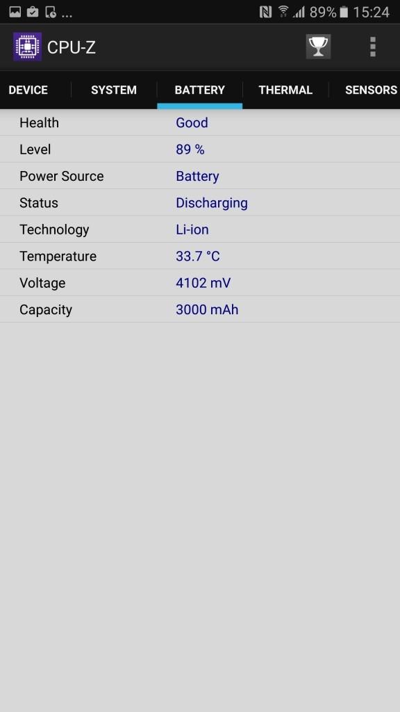Galaxy Note 5 a1 CPU-Z4