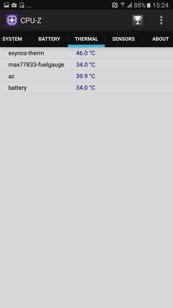 Galaxy Note 5 a1 CPU-Z5