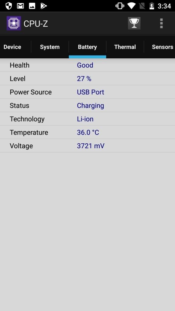 OUKITEL K10000 Pro CPU-Z4