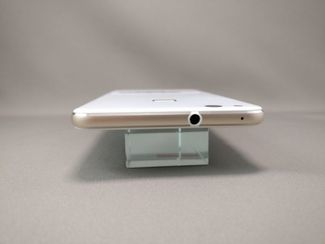 Huawei P10 Lite UQ mobile 貸出機 側面上