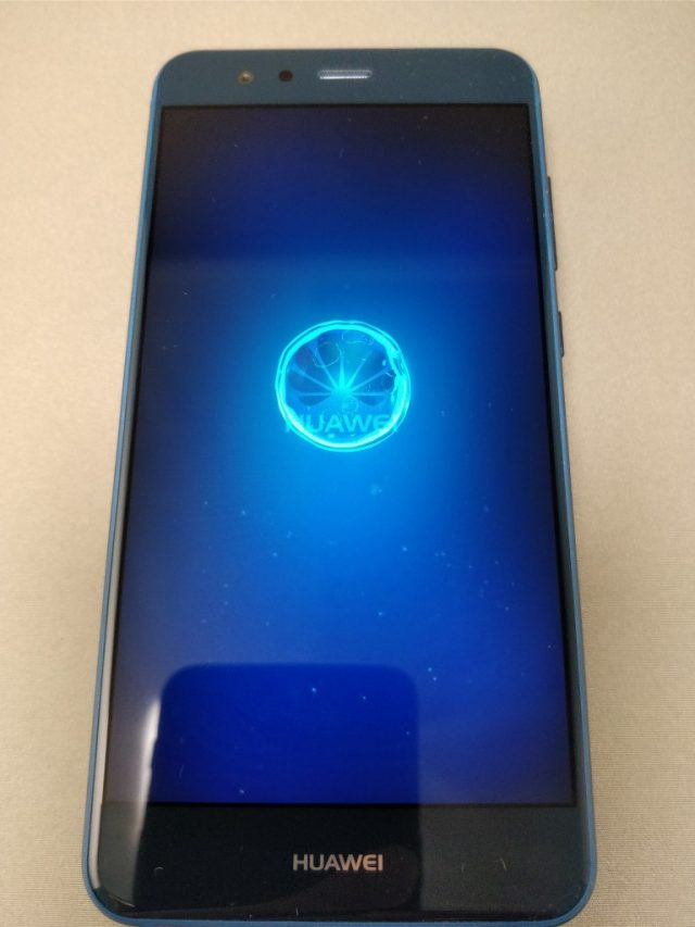 Huawei P10 Lite 起動5