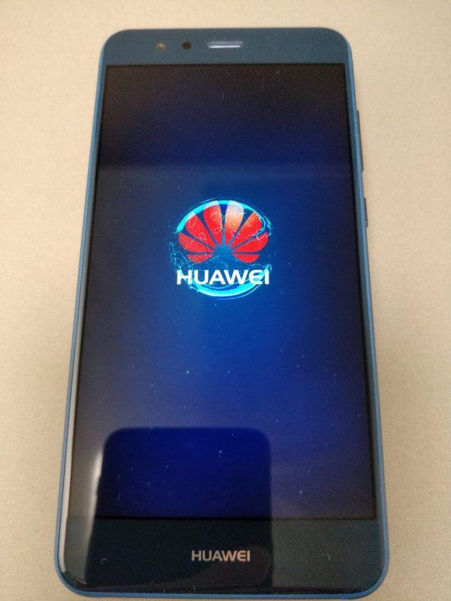Huawei P10 Lite 起動6