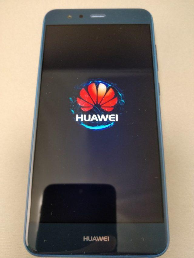 Huawei P10 Lite 起動7