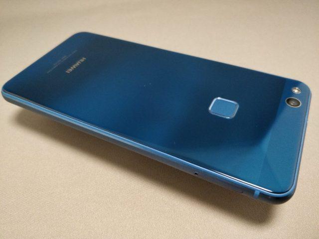 Huawei P10 Lite 裏 斜め 横