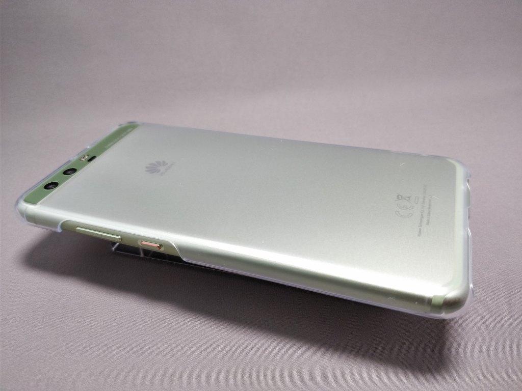 Huawei P10 Plus 保護ケース装着 斜め